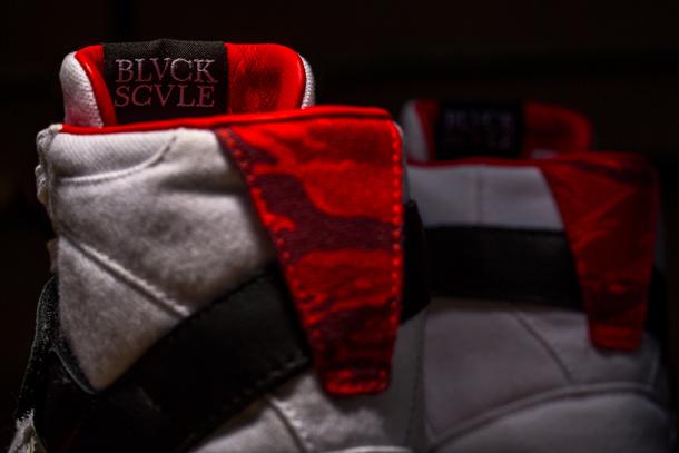Black Scale x adidas Consortium heel detail