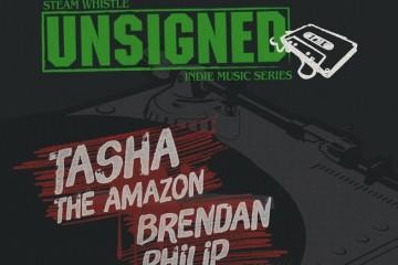 Steam Whistle UNSIGNED 30 ft.  Brendan Philip, Tasha The Amazon, & Joseph of Mercury