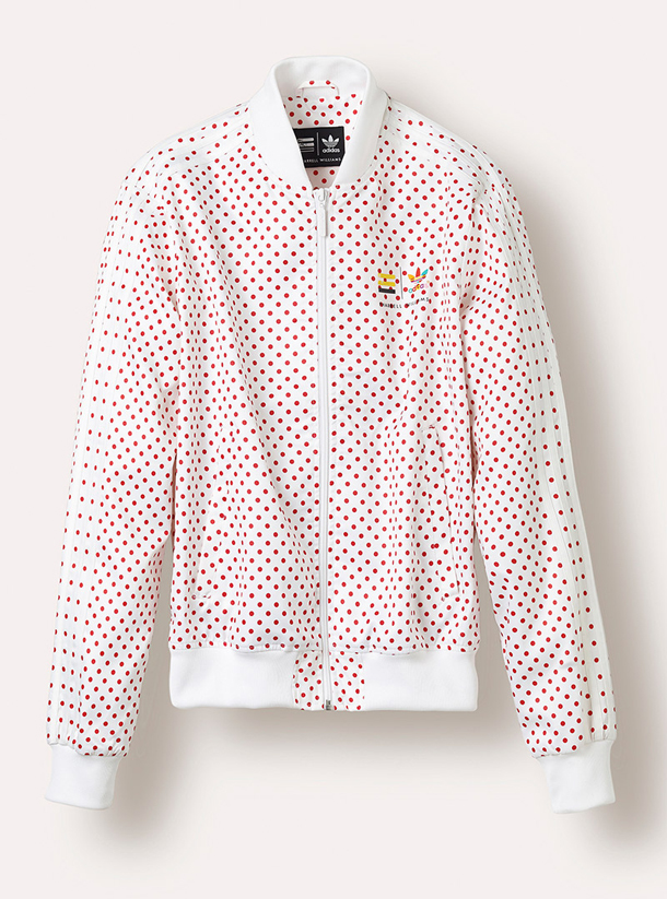 adidas Originals PHARRELL WILLIAMS Polka Dot Pack Jacket White