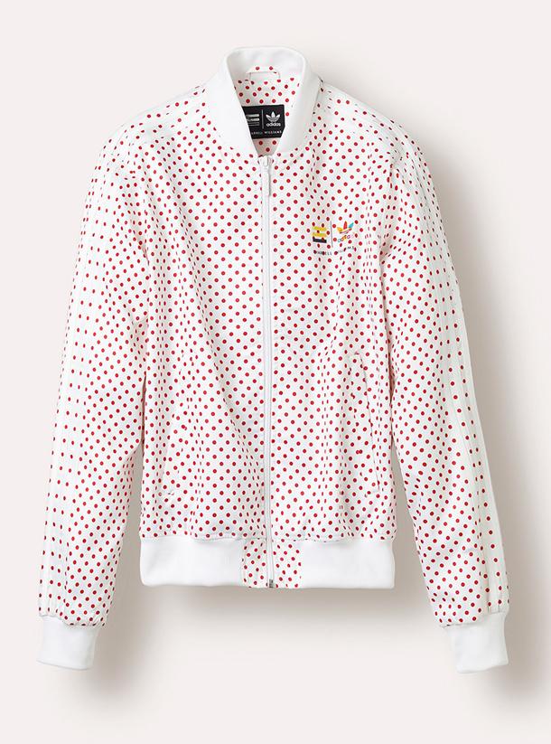 adidas Originals PHARRELL WILLIAMS Polka Dot Pack Jacket White