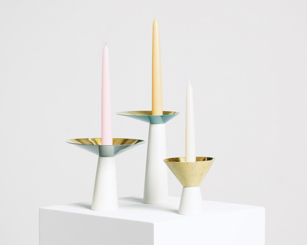 Umbra Shift Asymmetrical Candle Holders