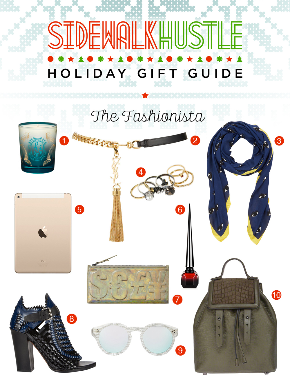 Sidewalk Hustle Holiday Gift Guide 2014 - Fashionista