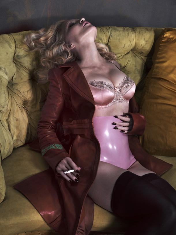 Madonna for Interview Magazine December 2014-2