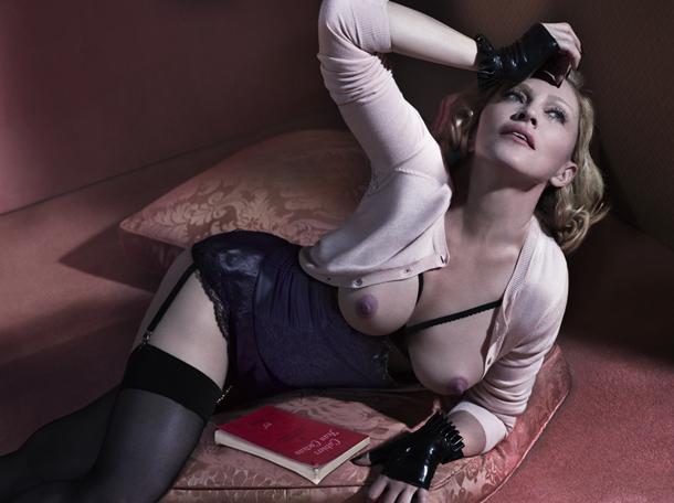 Madonna for Interview Magazine December 2014-9