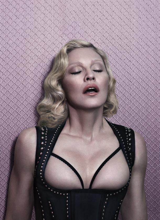 Madonna for Interview Magazine December 2014