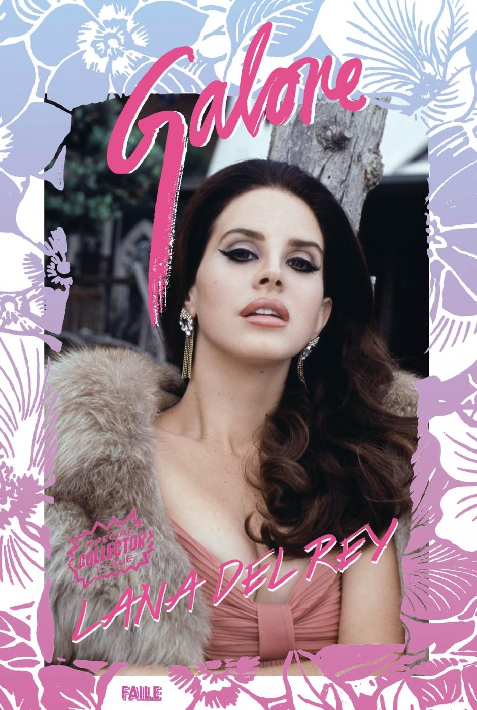 Lana Del Rey for Galore Magazine