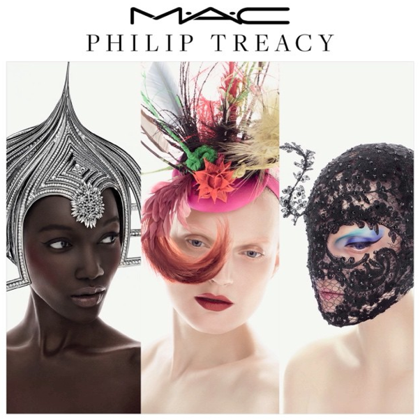 M.A.C. Cosmetics x Philip Treacy