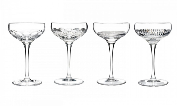 Waterford Mixology Crystal Coupe Set