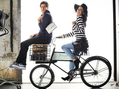 Melissa Fumero & Andy Samberg of Brooklyn Nine-Nine for Good Housekeeping January 2015-6