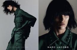 Anya Rubik for Marc Jacobs Spring 2015