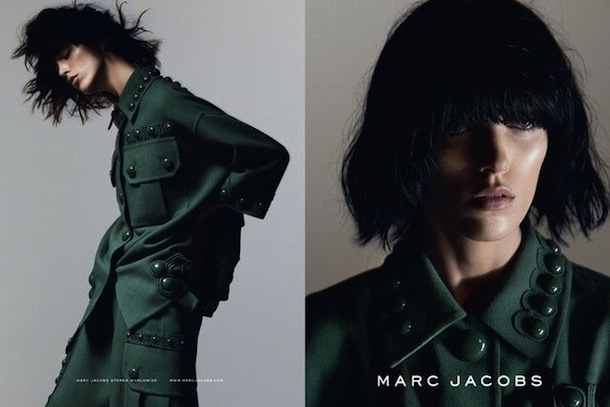 Anya Rubik for Marc Jacobs Spring 2015
