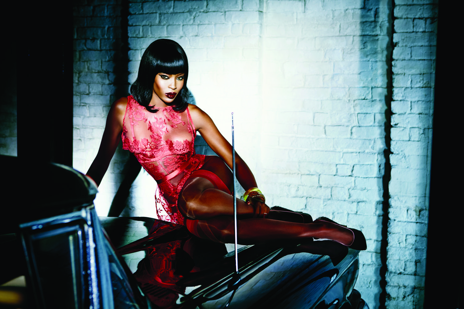 Naomi Campbell for Agent Provocateur Spring 2015-2