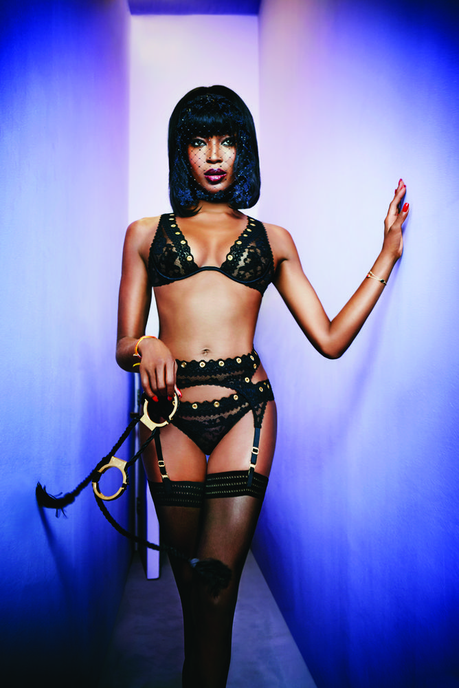 Naomi Campbell for Agent Provocateur Spring 2015-4