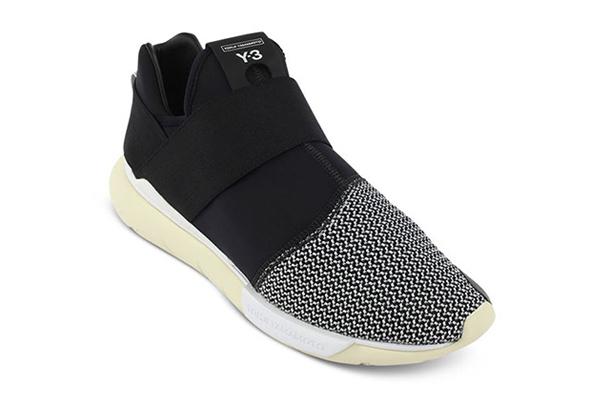 adidas Y-3 Qasa Low II Black & White