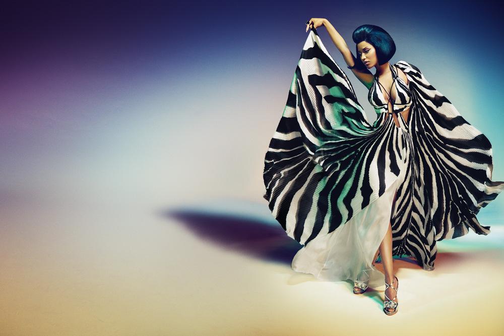 Nicki Minaj for Roberto Cavalli Spring Summer 2015 Campaign-1