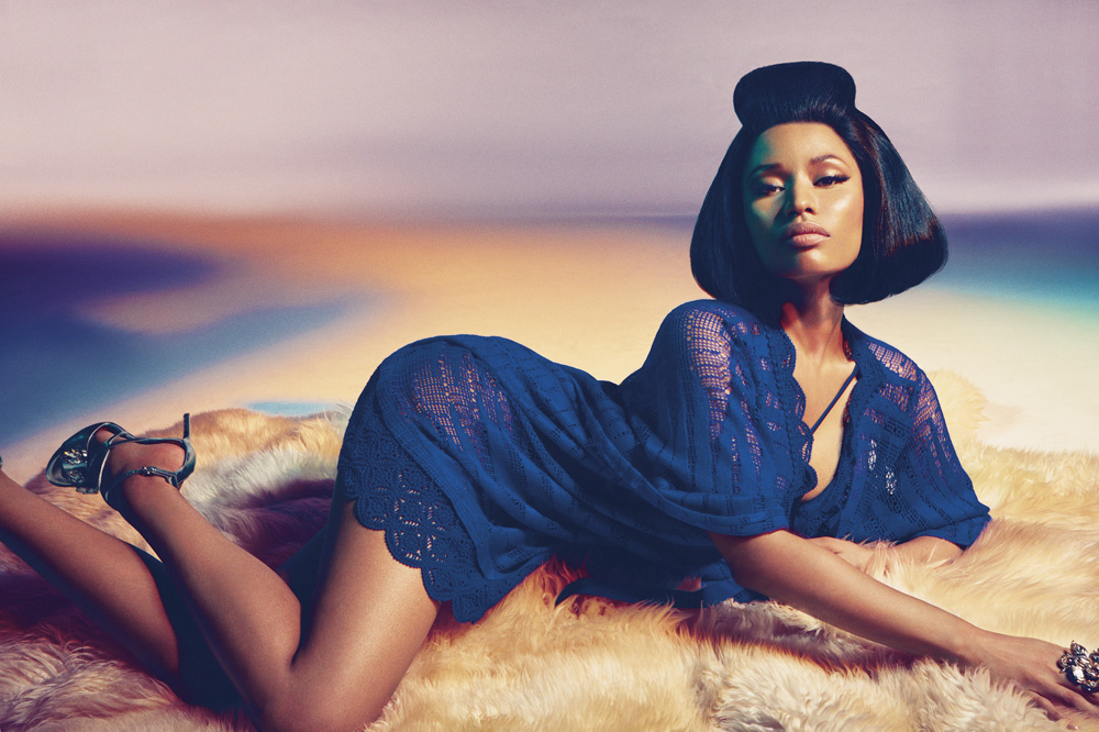 Nicki Minaj for Roberto Cavalli Spring Summer 2015 Campaign-10