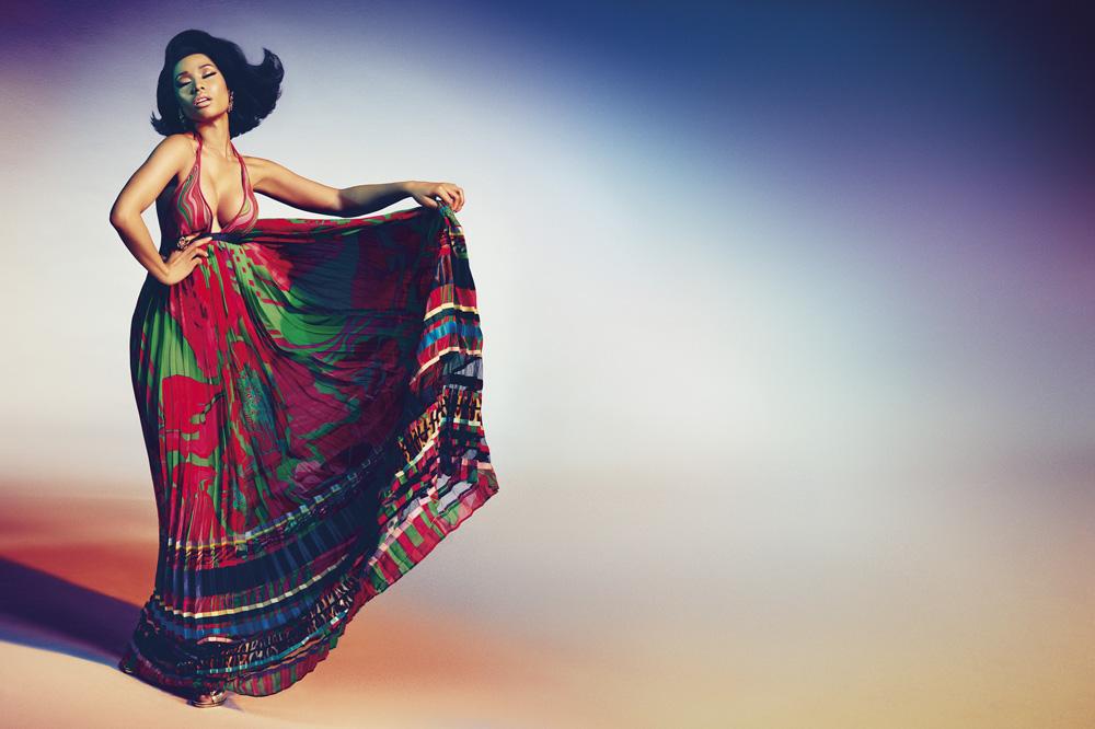 Nicki Minaj for Roberto Cavalli Spring Summer 2015 Campaign-2