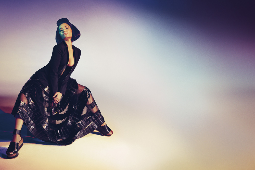 Nicki Minaj for Roberto Cavalli Spring Summer 2015 Campaign-4