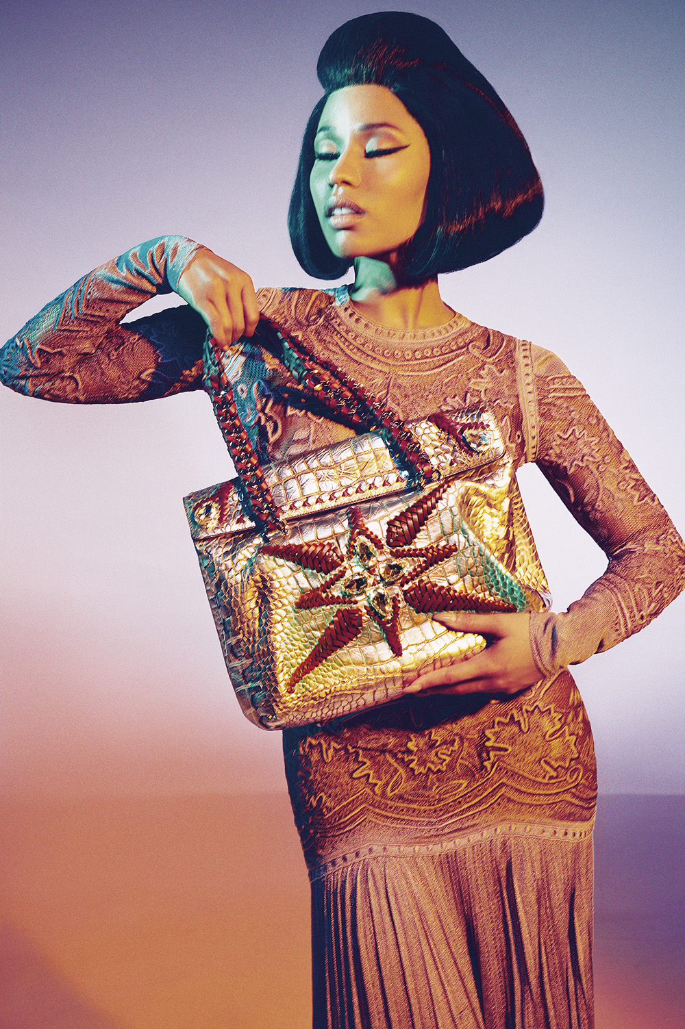 Nicki Minaj for Roberto Cavalli Spring Summer 2015 Campaign-6