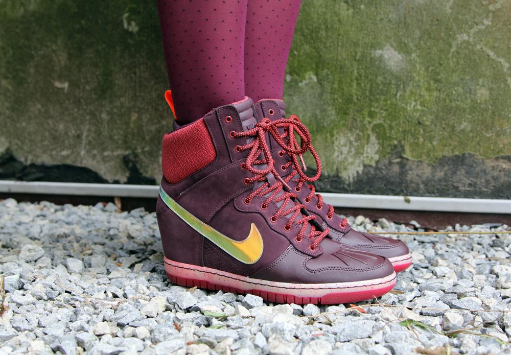 Hawley Dunbar Street Style Sidewalk Hustle 2014 Nike Sneaker Boot