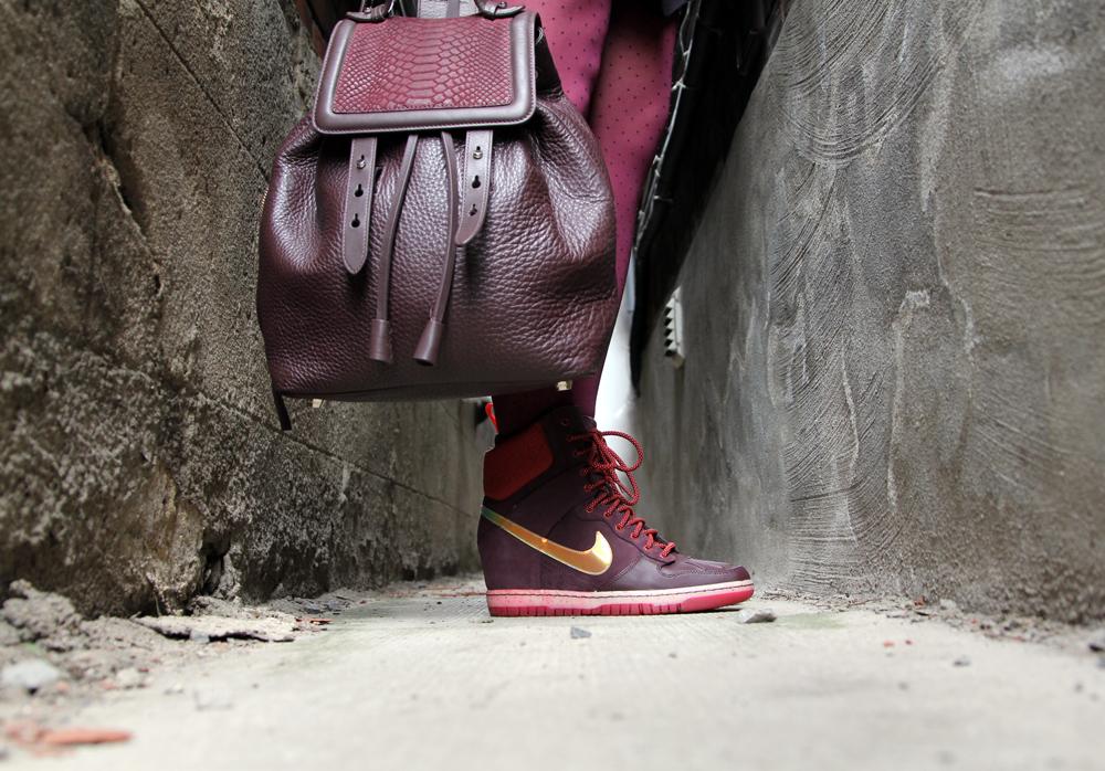 Hawley Dunbar Street Style Sidewalk Hustle 2014 Bag & Shoe