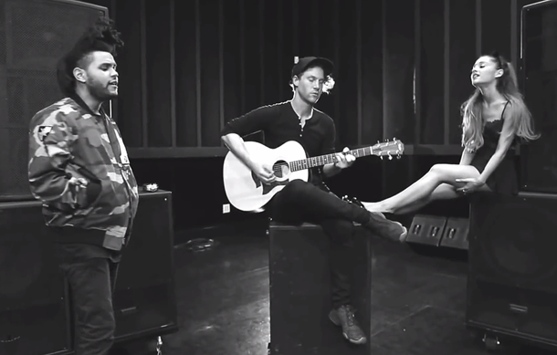 Ariana Grande Love Me Harder Acoustic ft The Weeknd Music Video