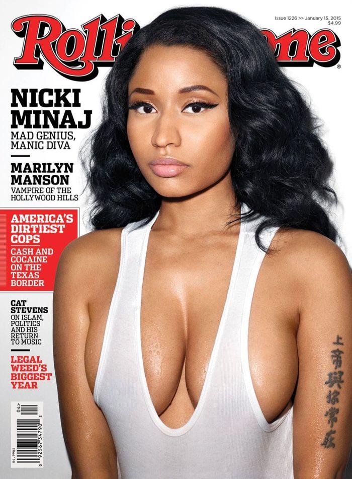 Nicki Minaj for Rolling Stone January 2015 by Terry Richardson