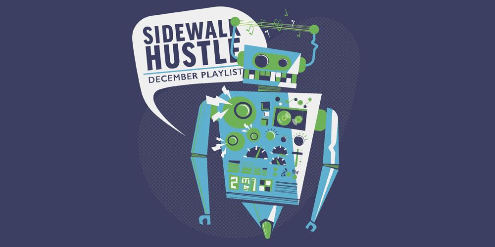 Sidewalk Hustle December 2014 Mixtape banner