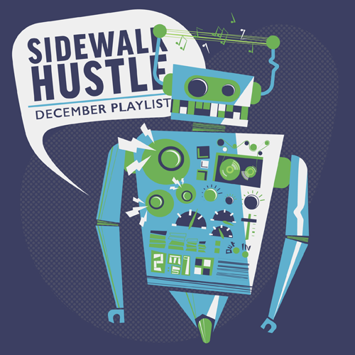 Sidewalk Hustle December 2014 Mixtape