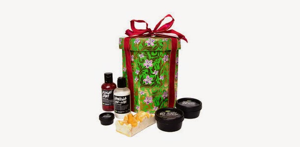 Lush Cosmetics Little Ro Flowers Gift Set