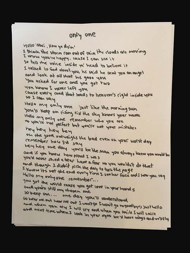 Kanye West Paul McCartney Only One Lyrics