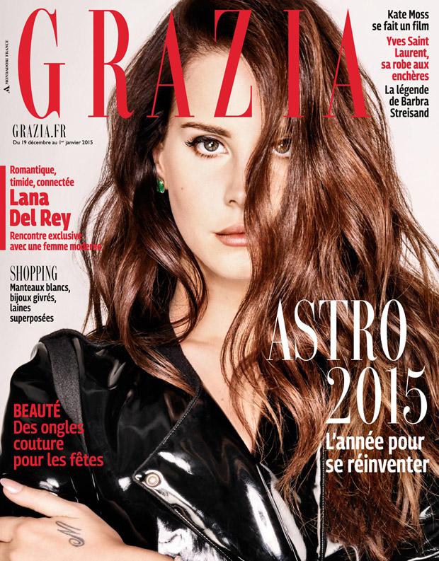 Lana Del Rey for Grazia France January 2015
