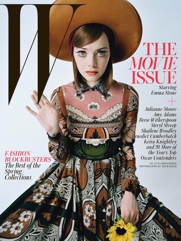 Emma Stone W Magazine Best Performances Issue February 2015