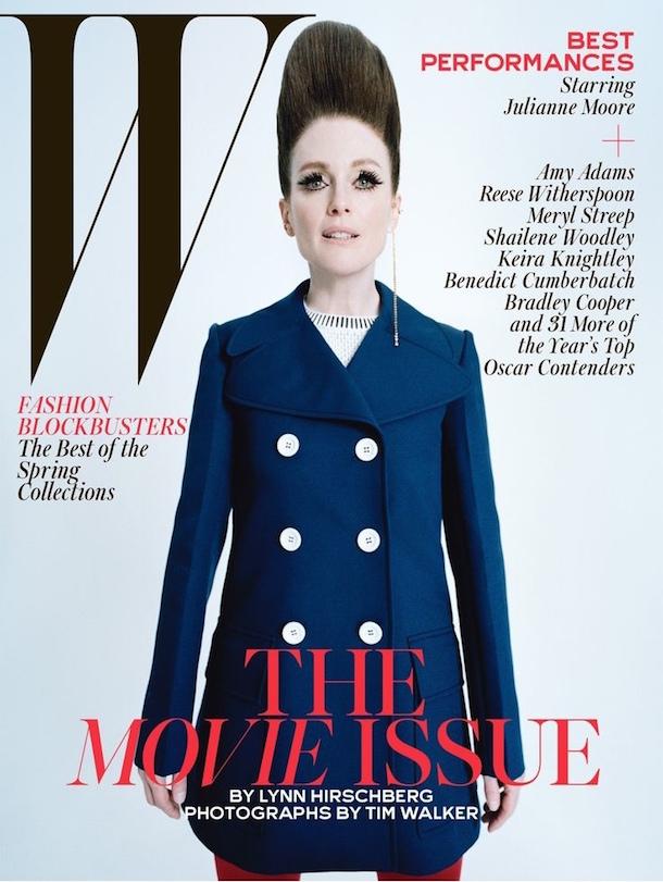 Julianne Moore W Magazine Best Performances Issue February 2015