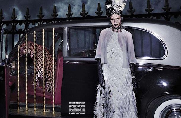 Lara Stone for Vogue Italia January 2015-4