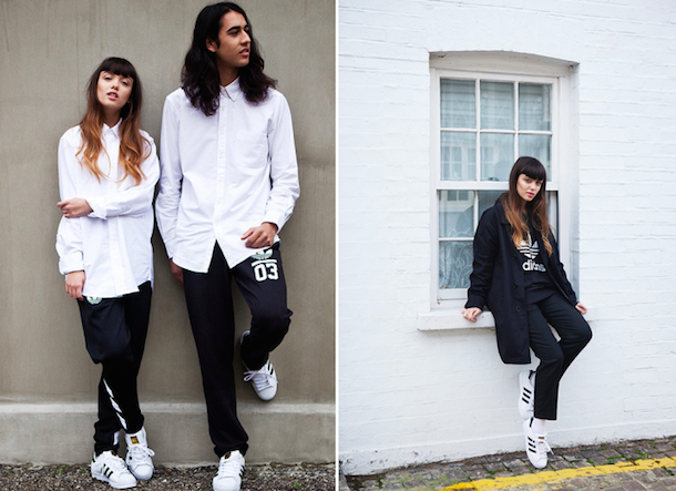 lookbook adidas superstar femme