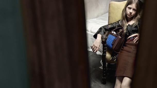 Mia Goth, Imogen Poots and Marine Vacth for Miu Miu SS 2015-8