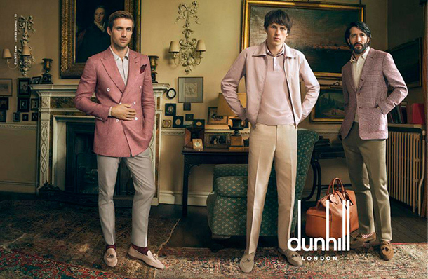 Dunhill Spring Summer 2015 Campaign 1
