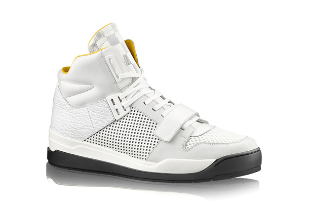 Louis Vuitton Trailblazer Sneaker Boot White