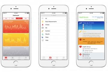 Apple Health App Snapshot
