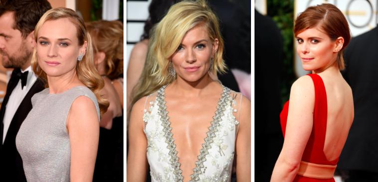 Diane Kruger, Sienna Miller, Kate Mara Golden Globes 2015