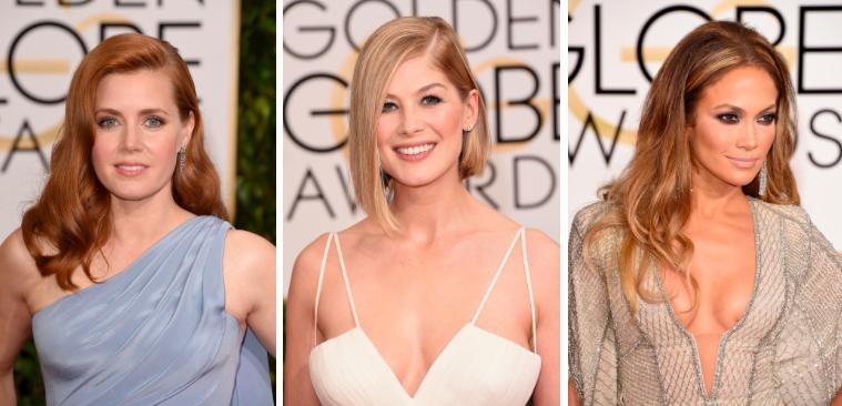 Jennifer Lopez, Amy Adams, Rosamund Pike Golden Globes 2015