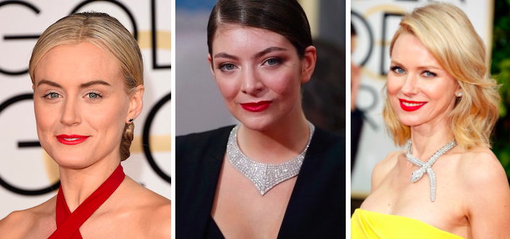 Taylor Schilling, Lorde, Naomi Watts Golden Globes 2015