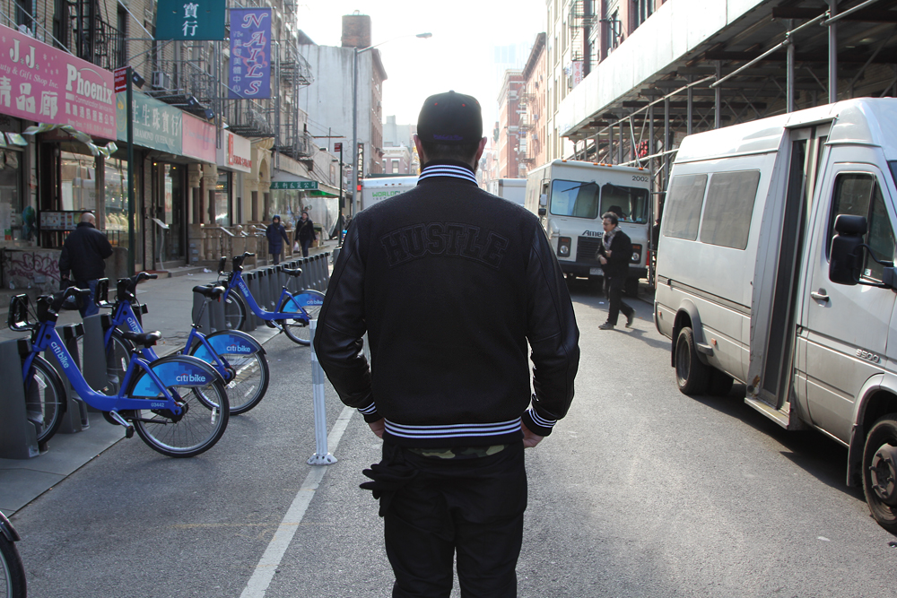 What I Wore Hustle in Nolita-Jacket Back