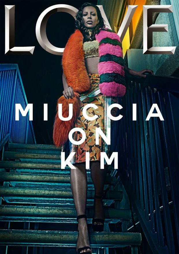 Kim Kardashian For LOVE Magazine No. 13
