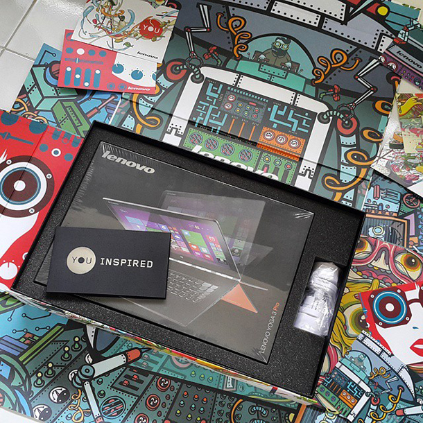 Tech Lenovo Yoga Tablet 2 Pro-Instagram