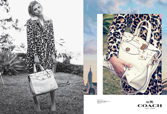 Chloe Grace Moretz & Kid Cudi for Coach Dreamers Spring 2015-2