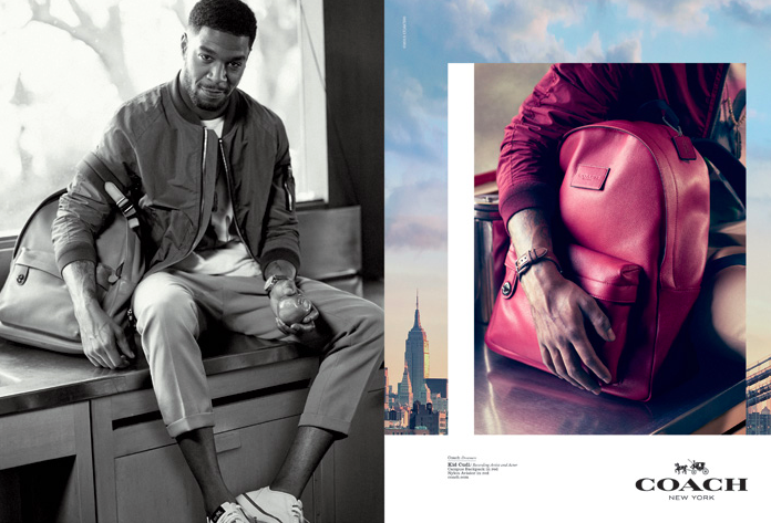 Chloe Grace Moretz & Kid Cudi for Coach Dreamers Spring 2015-4
