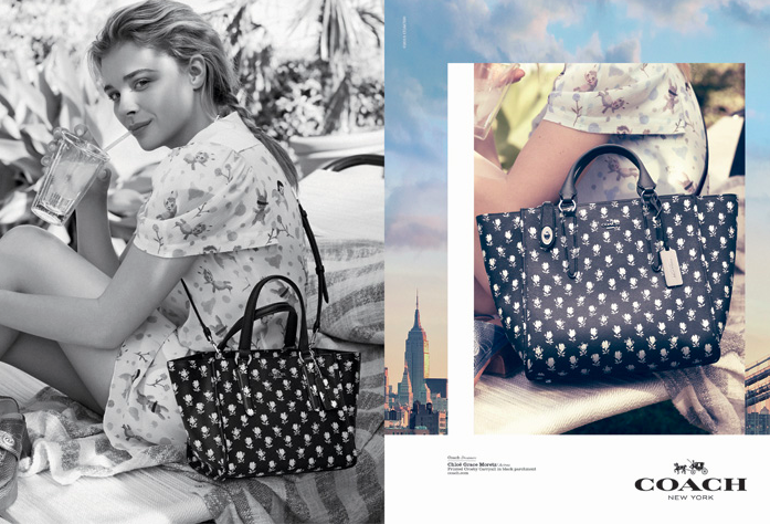 Chloe Grace Moretz & Kid Cudi for Coach Dreamers Spring 2015-6