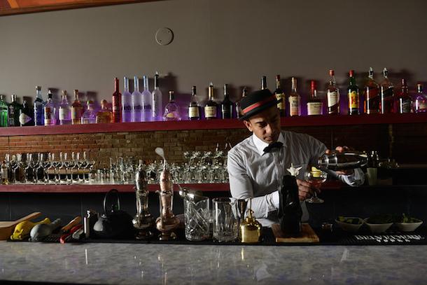 BarFish Toronto Bartender Nishan Nepulangoda